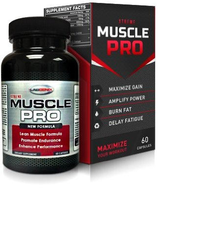 xTreme Muscle Pro: Extra Strength Lean Workout Supplement of L Arginine, Creatine, & Beta-Alenine Stacked Muscle Building Supplement for Muscle Growth, Vascularity and Energy. 60 Capsules. Men & Women