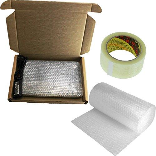 Laptop Versand Post Box 50x 36x 7cm Safe Mail + 3M Luftpolsterfolie + Packband
