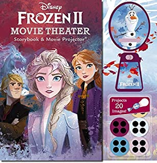 Frozen 2: Movie Theatre Storybook and Movie Projector (Disney)