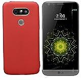 Todobarato24h Funda TPU Lisa Roja LG G5 4G