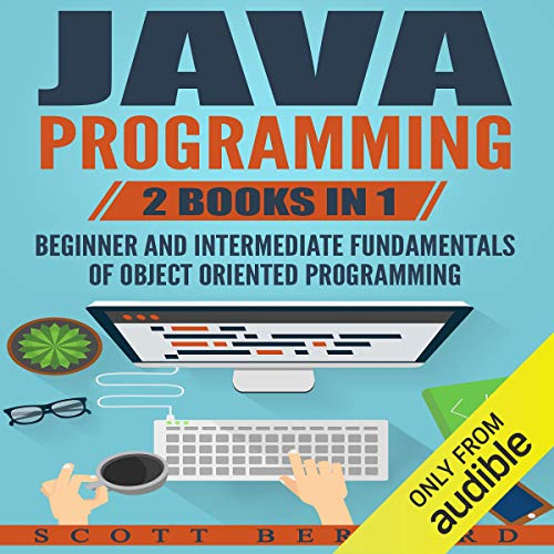 Java Programming: 2 Books in 1 audiobook cover art