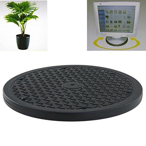 Drehteller 25cm universal Servierplatte Servierteller PC Monitor Halter Pflanzen Bildschirmhalter