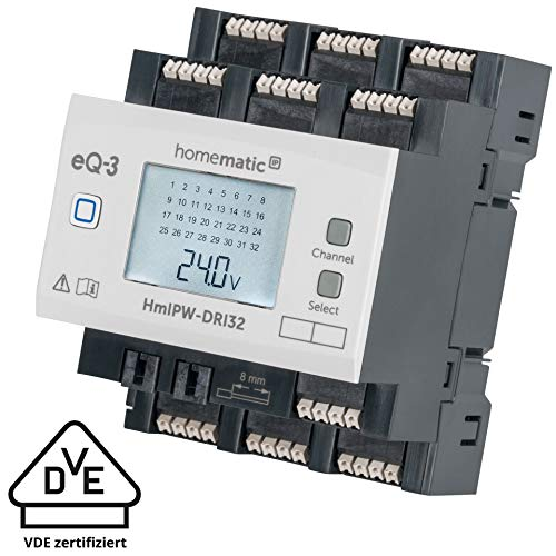 Homematic IP Wired 32-fach-Eingangsmodul HmIPW-DRI32