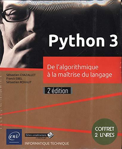 Python 3 - Coffret de 2 livres