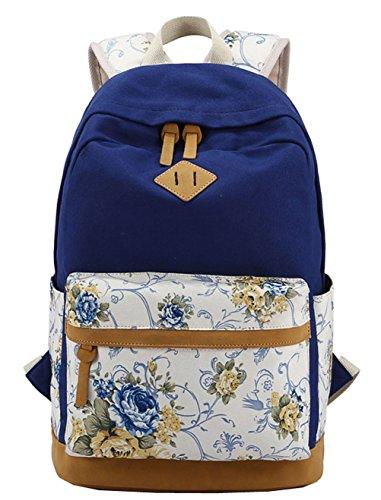 Greeniris Zaino da viaggio casuale delle donne zaino Zipper sacchetto di scuola per Lady