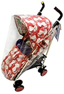 For Your Little One Raincover Compatible with Cosatto Supa Buggy (142)