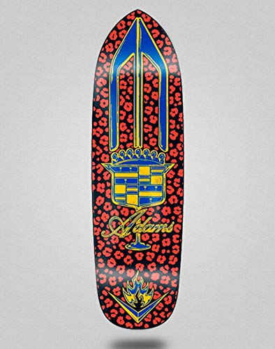 Black Label Skateboard Deck Board Jason Adams El Dorado Black Red 9.5