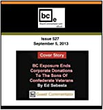 BC Exposure Ends Corporate Donations To The Sons Of Confederate Veterans (BlackCommentator.com Book 1) (English Edition)