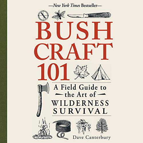 Bushcraft 101 audiobook cover art