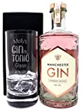 Personalised Premium Highball & Gin - Gin & Tonic% Design (Manchester Raspberry Infused Gin