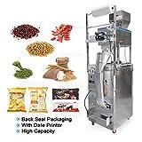 100-1000g de gran capacidad automática de llenado y sellado de la máquina Alimentación del grano de café Grano de alimentación trasero del bolso de la máquina de embalaje sello,With date printer