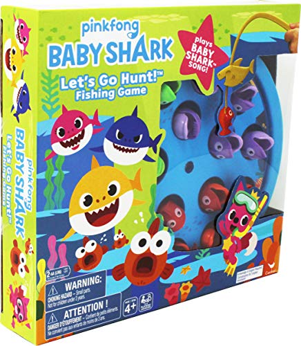 Spin Master: Pinkfong Baby Shark - Lets Go Hunt! Fishing Game & Song, Multicolor (6054916)