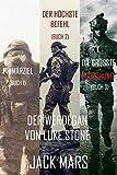 Der Werdegang von Luke Stone Thriller-Paket: Primärziel (#1), Der Höchste Befehl (#2) und Die Grösste Bedrohung (#3)