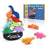 LET'SGo Juguetes Niños 3-12 Años, Montessori Juegos Niños 3-12 Años Juegos Educativos Niños 3-12 Años Regalos para Niños Niñas de 3-12 Años Dinosaurios Juguetes de Madera
