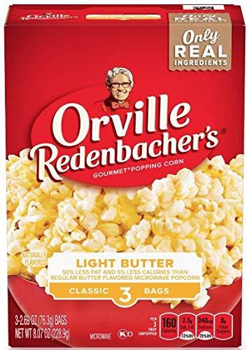 Buy Bargain Orville Redenbacher's Light Butter Microwave Popcorn, Classic Bag, 3-Count (Pack of 12)