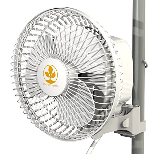Secret Jardin Ventilator, Monkey Fan, mit Klammer, 16 W