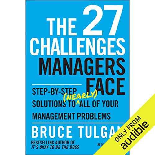 The 27 Challenges Managers Face audiobook cover art
