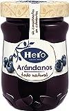 Hero Confitura Extra de Arándanos Todo Natural Sin Conservantes Pack de 8x345 g