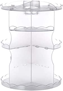 HJKGSVdv Boîte de Rangement rotative en Acrylique pour cosmétiques