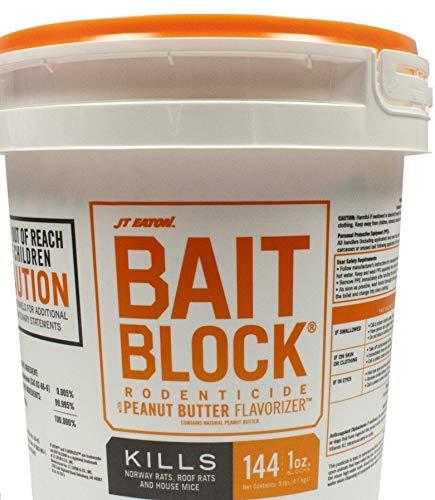 Bait Block Rat Peanutbuter 9lb -  JT EATON, 709PN