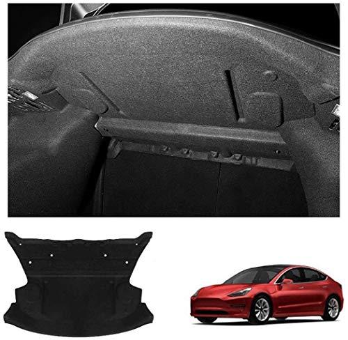 QMZDXH Almohadilla Protectora Personalizada del Capó Delantero del Motor y del Maletero Trasero a Prueba de Sonido para Tesla Model 3, Fácil de Instalar Rear