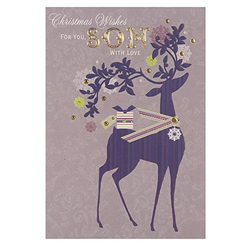 Hallmark Christmas Wishes Son, Christmas Greetings Card