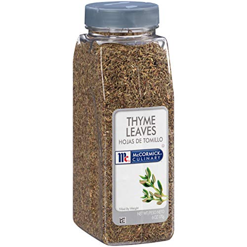 McCormick Culinary Thyme Leaves, 6 oz