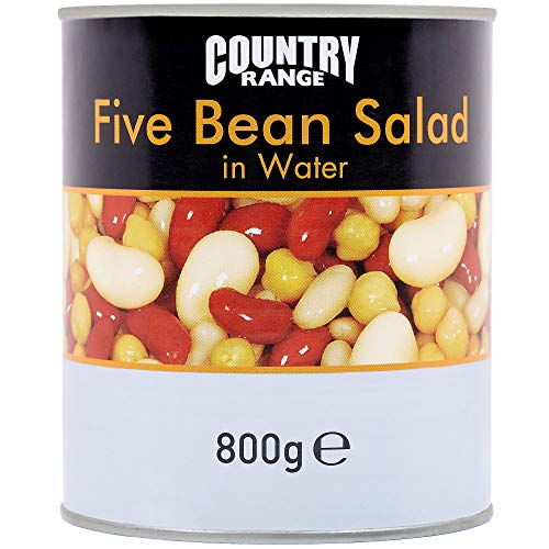 Country Range Five Bean Salad in Water - 6x800g