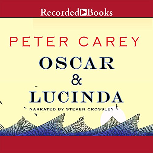 Oscar and Lucinda audiobook cover art