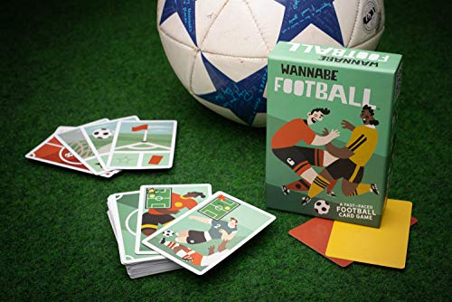 Wannabe Football: The Feeling of Playing real Football - A Fast Easy Card Game - Deutsche Regeln !!