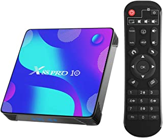 Android TV Box,Turewell Android 10.0 2GB RAM 16GB ROM RK3318 Quad-Core 64bit Cortex-A53 Support 2.4/5.0GHz dual-band Wifi ...