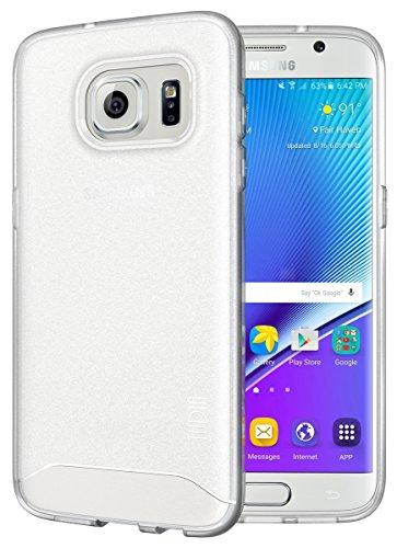 TUDIA Samsung Galaxy S7 Edge Funda, Ultra Delgado Mate Completa Arch TPU Caso de Parachoques de protección Funda Carcasas para Samsung Galaxy S7 Edge (Frosted Klar)