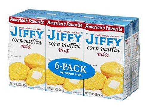 Jiffy Corn Muffin Mix - 6 ct by Jiffy