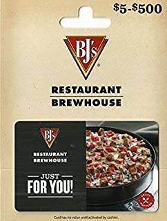 bj's restaurant gift card deals
