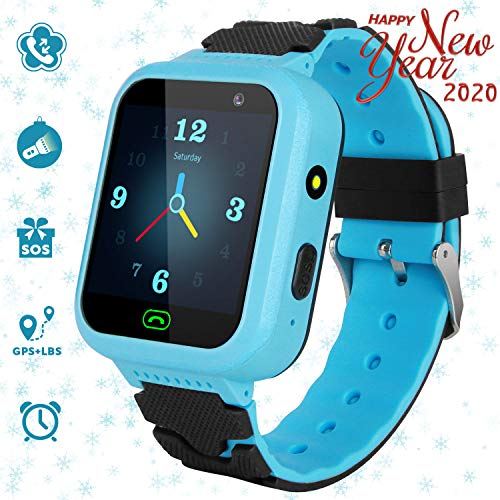 GPS Children's Watches Phone, Sports Smart Watches for 4-15y Boys and Girls, HD Touch Screen...