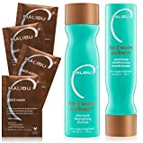 Malibu C Hard Water Wellness Collection Shampoo 266ml + Conditioner 266ml + Welness sachet 4 x 5 g