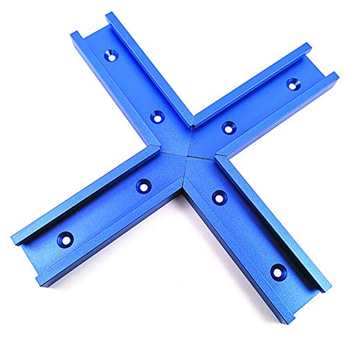 Pannow 4 pistas de ingletadora con ranura en T, 30 tipos de...
