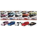 """ホットウィール(Hot Wheels) カーカルチャー 2020 アソートMix5 """"Modern Classics"""" 【ミニカー10台入り BOX販売】98'スバル インプレッサ STI(2台) 72' メルセデス・ベンツ SEL(2台) フォルクス・ワーゲン ジェッタMK3(2台) ニッサン シルビア S14(2台) ホンダ シビック EG(2台) 986S-FPY86"""