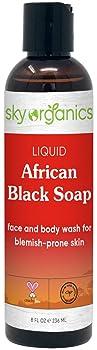 Sky Organics Liquid African Black Soap
