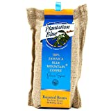 Authentic Jamaican Blue Mountain Coffee Beans, 100% Fresh Blue Mountain Coffee, Medium Roasted Whole Beans - 16 ounces (1lb)