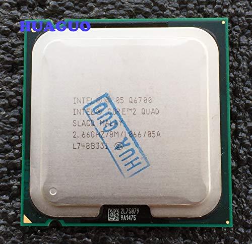 Intel Core 2 Quad Q6700 2,66 GHz Quad-Core CPU Prozessor SLACQ LGA 775 8M L2 Cache 1066MHz FSB (Erneuert)
