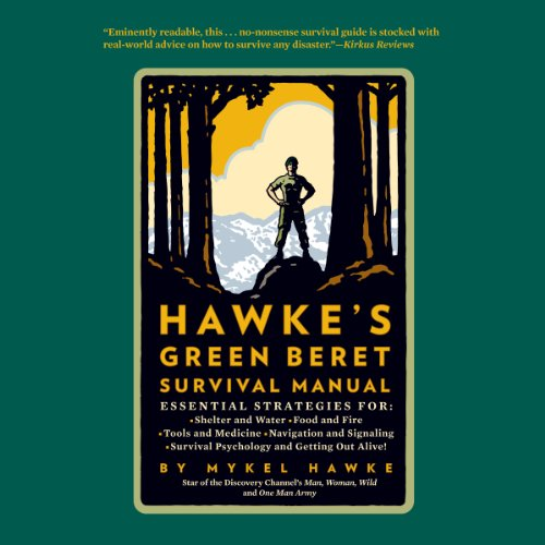 Hawke's Green Beret Survival Manual audiobook cover art
