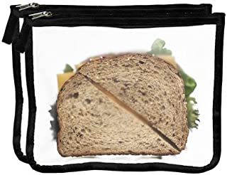 Zip Seal Lunch Bag - Black 2