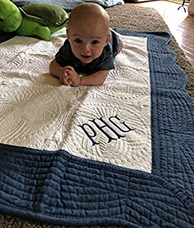 Personalized Baby Boy Quilt