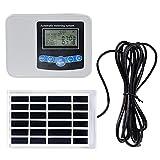 YANXS Bewässerungscomputer Solarenergie Digitale,Automatische Zeitschaltuhr Bewässerungsdauer mit...