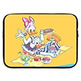 Maletín para portátil Donald and Daisy Duck Holiday Neoprene Water-Resistant for Laptop Sleeve Case Bag 15 Inch