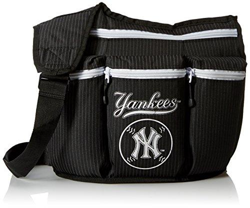 Diaper Dude Diaper Dude NY Yankees Diaper Bag Diaper Bag Black Pinstripe