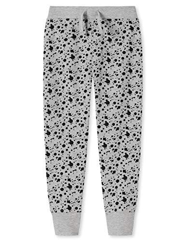 Schiesser Mädchen Punk Rock Sweathose Hose, Grau (Grau 200), (Herstellergröße: 116)