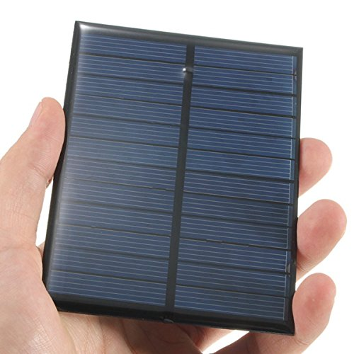 Bluelover 6V 1.1 W Monocristalino Panel Fotovoltaico Mini Panel Solar