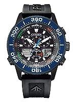 [シチズン] 腕時計 プロマスター エコ・ドライブ MARINEシリーズ ヨットタイマー 限定モデル 世界限定1,600本 JR4065-09E メンズ ブラック